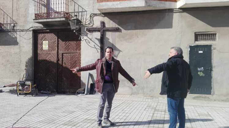Remodelación de la intersección de la calle Cruces en Herencia 9