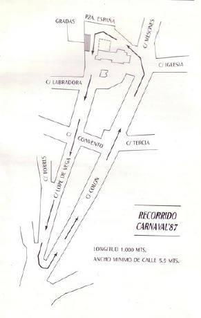 ofertorio carnaval de herencia 1987 - De nuevo carnavaleando por febrero
