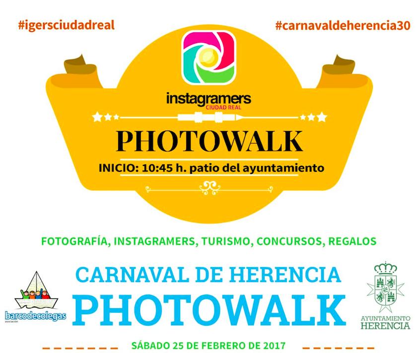 photowalk carnaval de herencia - El Carnaval de Herencia será punto de encuentro para los instagramers