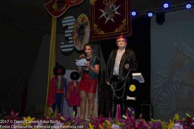 presentadores de inauguracion carnaval de herencia 629x420 - El Carnaval de Herencia inaugura su fiesta más destacada