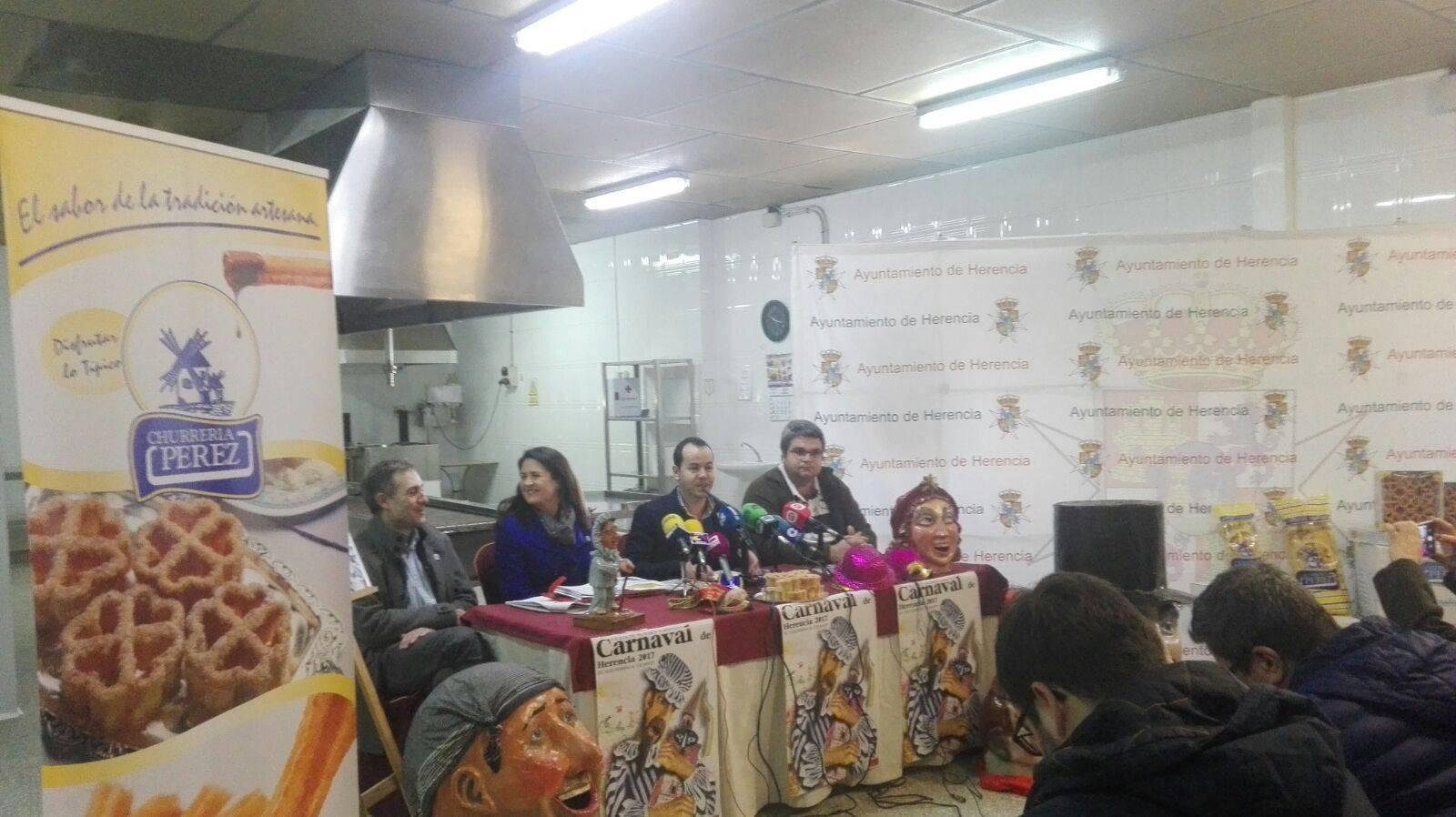 Programa de actos de Carnaval de Herencia 2017 2