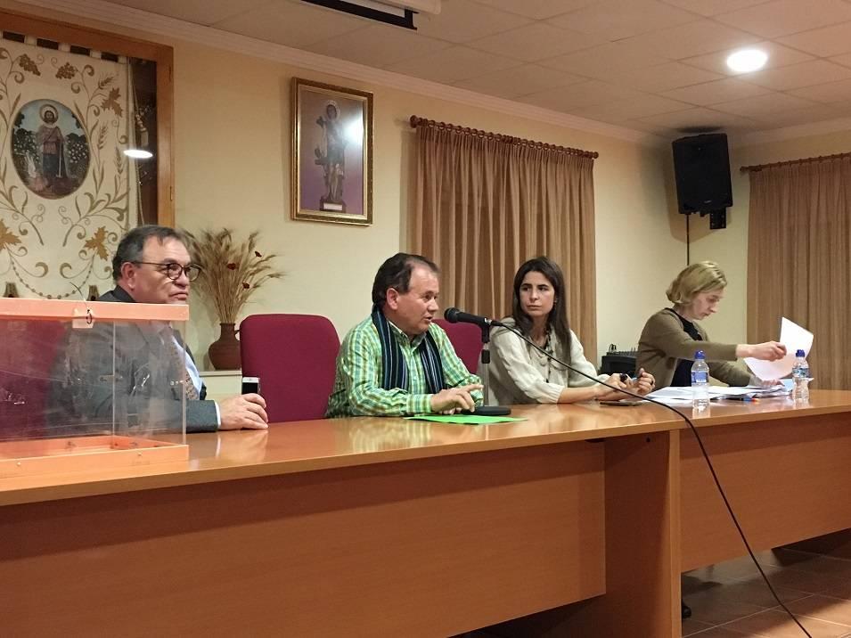 Teodomiro Carrero elegido presidente de la Comunidad de Usuarios de Aguas Subterráneas de la masa de agua subterránea Consuegra-Villacañas 1