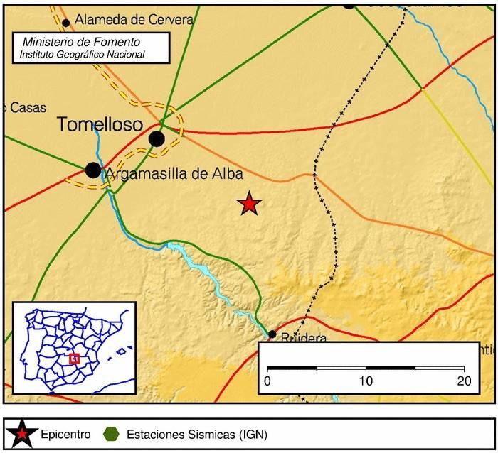 terremoto en tomelloso mancha - Un pequeño terremoto en la mancha agita más las redes sociales que la tierra