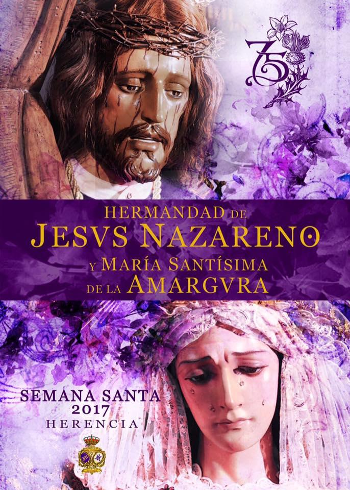 """17499406 1846399488963760 3620044203858108348 n - """"Los Moraos"""" de Herencia presentan su cartel de la Semana Santa 2017"""