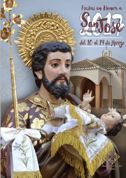 Cartel San Jose Herencia 2017 - La Hermandad de San José de Herencia, fiel a su festividad en marzo