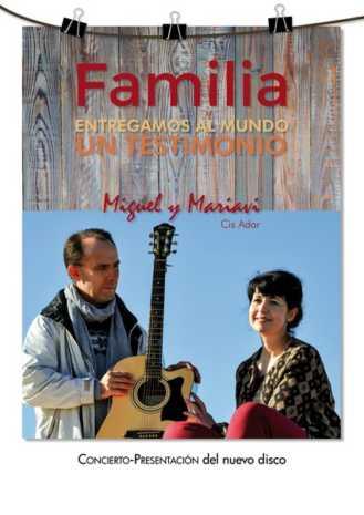 Cartel presentación disco familia 1 329x465 - Cis Adar continua este fin de semana con la gira de su nuevo disco Familia