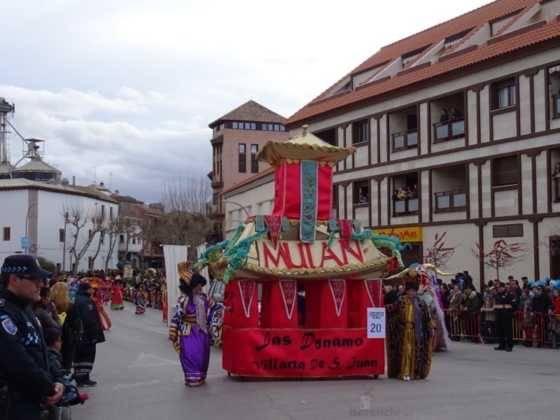Desfile 2017 Ofertorio del Carnaval de Herencia 378 560x420 - Fotografías del Ofertorio de Carnaval de Herencia 2017