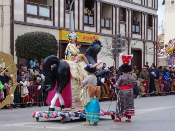 Desfile 2017 Ofertorio del Carnaval de Herencia 384 560x420 - Fotografías del Ofertorio de Carnaval de Herencia 2017