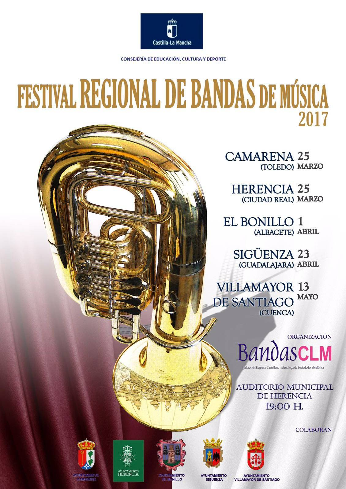 Festival regional de bandas de musica - Festival Regional de Bandas de Música en Herencia 2017