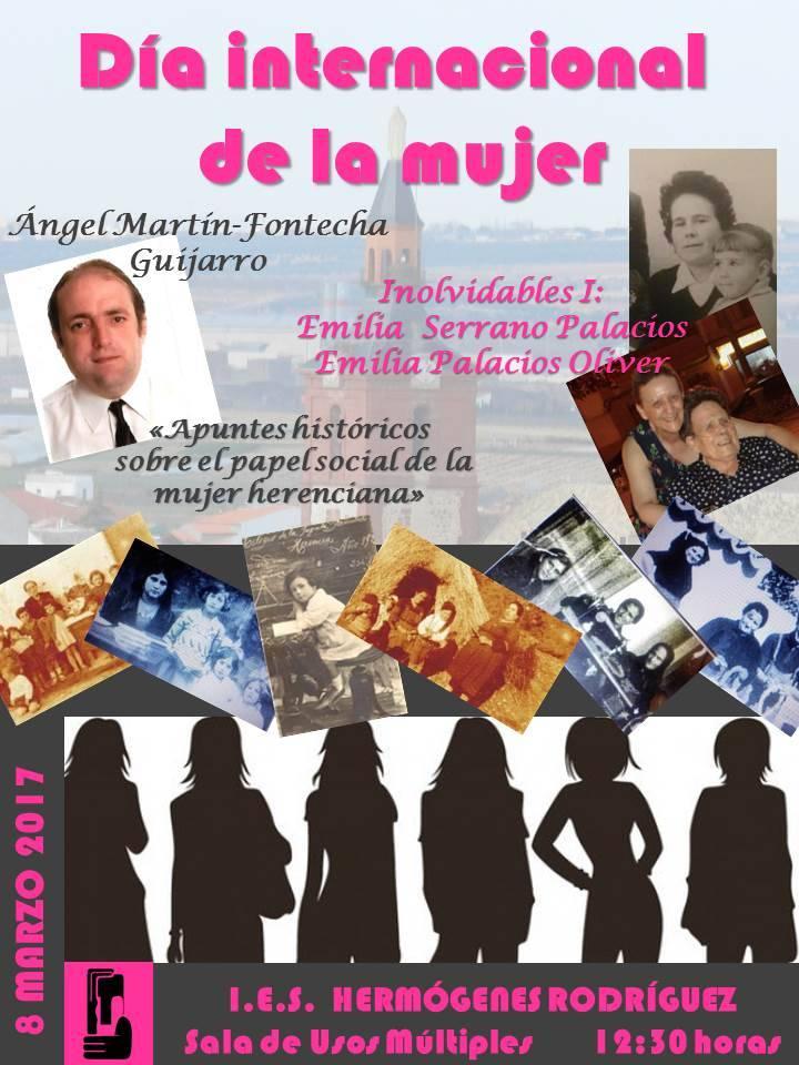Jornadas Mujer IES Hermógenes - Día Internacional de la Mujer en el I.E.S. Hermógenes Rodríguez