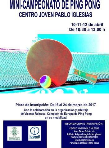 Campeonato de Ping Pong 2