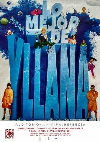 CARTEL YLLANA - Lo mejor de Yllana se podrá ver en Herencia