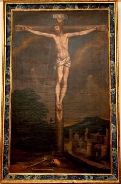 Cristo Crucificado de La Merced de Herencia01 - Las imágenes pasionales de Cristo en la iglesia conventual de La Merced