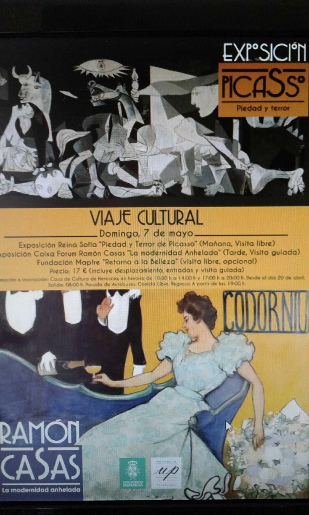 Museos Madrid 1068x1780 - Un día por las exposiciones de Madrid