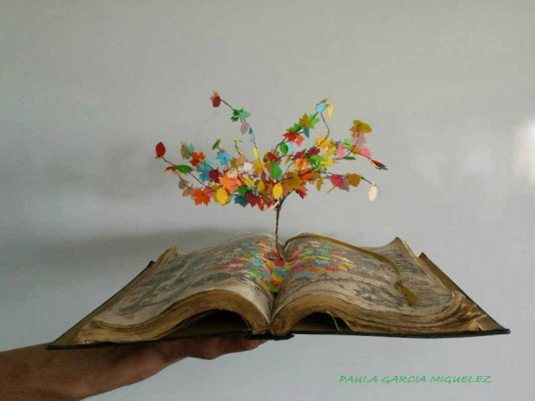 """Obra ganadora del XXVIII Premio de Artes Plásticas Fernando Zobel 1068x801 - La exposición """"Libros de Artista"""" en el IES Hermógenes Rodríguez"""