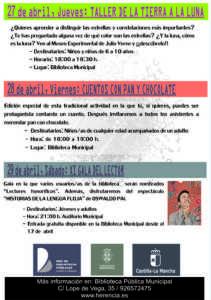 Programa Semana Biblioteca 17 2 211x300 - Semana de la Biblioteca 2017. Del 19 al 29 de abril