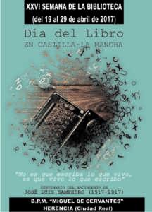 Semana Biblioteca Portada 17 216x300 - Semana de la Biblioteca 2017. Del 19 al 29 de abril