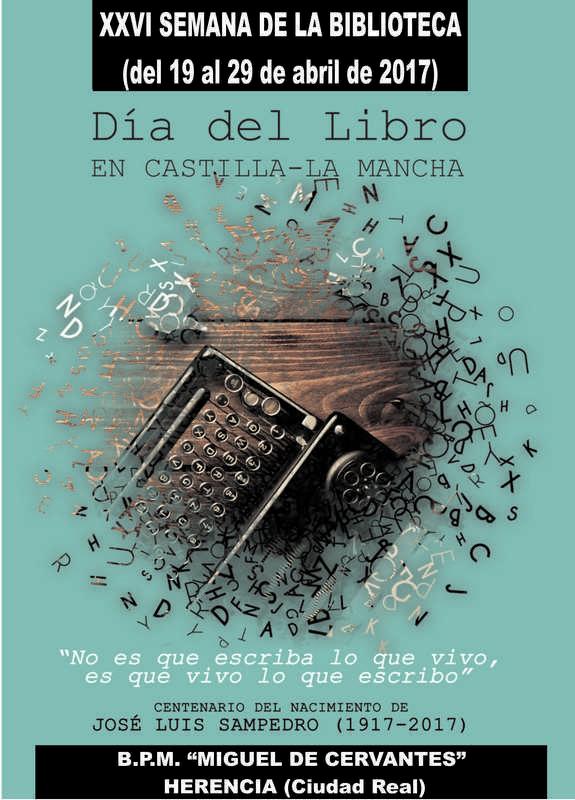 Semana Biblioteca Portada 17 - Semana de la Biblioteca 2017. Del 19 al 29 de abril