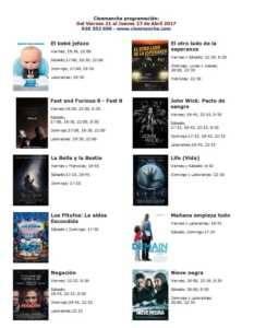 cartelera de cinemancha del 21 al 27 de abril 233x300 - Cartelera Cinemancha del viernes 21 al jueves 27 de abril.