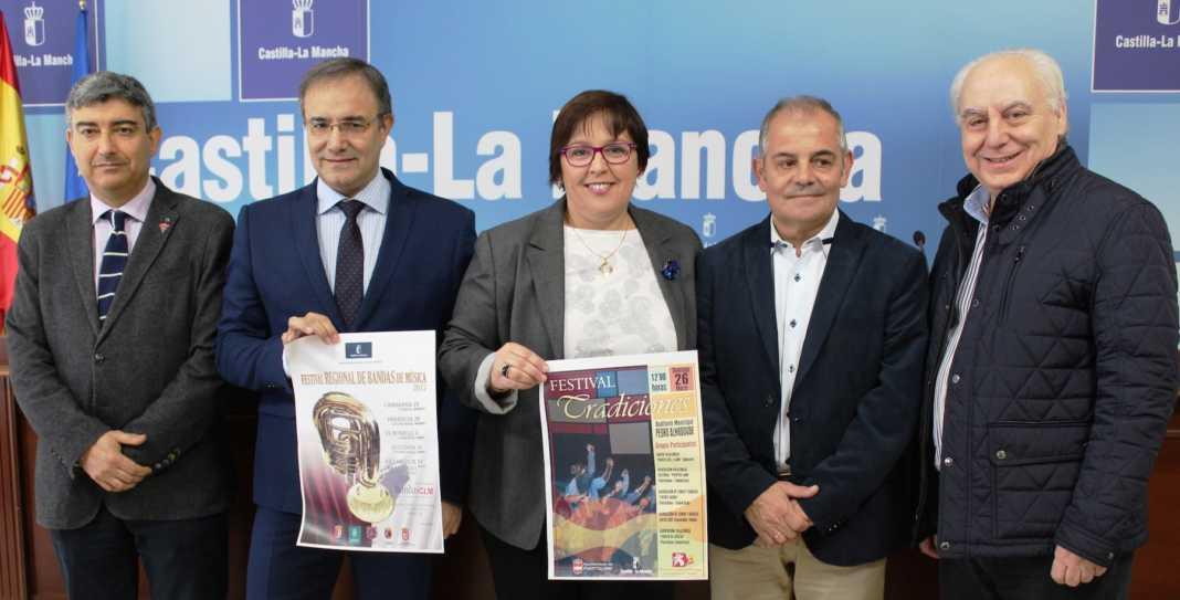 """El Gobierno de Castilla-La Mancha reconocerá la """"labor de difusión cultural"""" que realizan las bandas de música y los grupos folclóricos 4"""