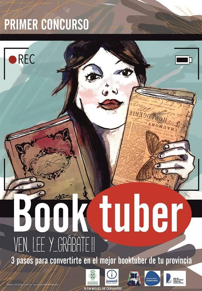 concurso booktuber herencia - La Biblioteca de Herencia organiza el I Concurso de Booktuber