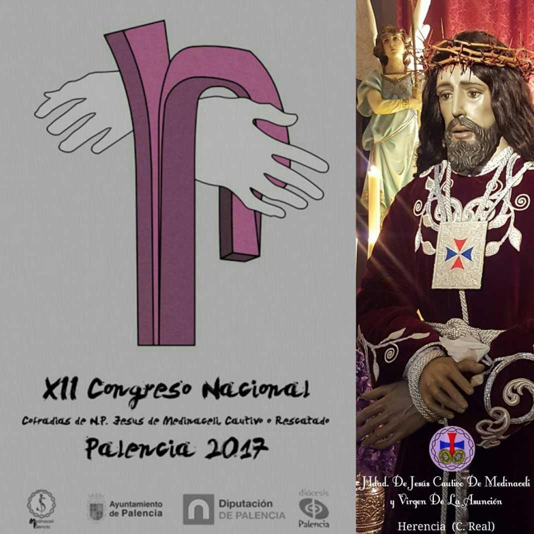 Herencia en el encuentro nacional de cofradías en Palencia 4