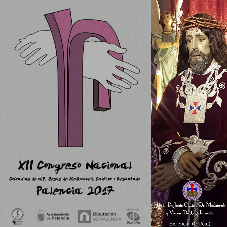 Herencia en el encuentro nacional de cofradías en Palencia 3