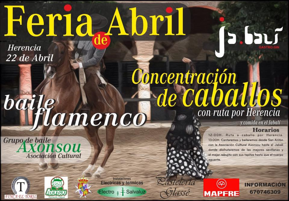 feria de abril caballos 2017 - Vuelve la Feria de Abril a Herencia