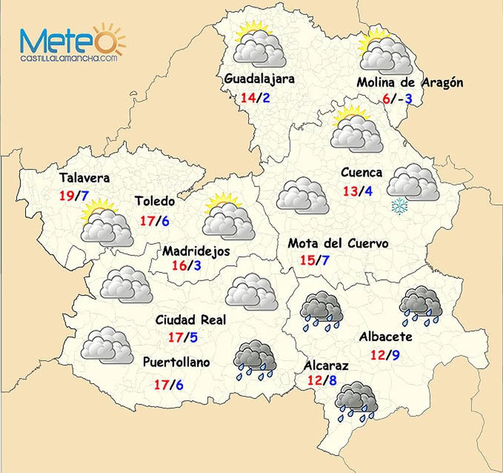 frio nieve castilla lamancha - El frío y la nieve regresan a Castilla-La Mancha