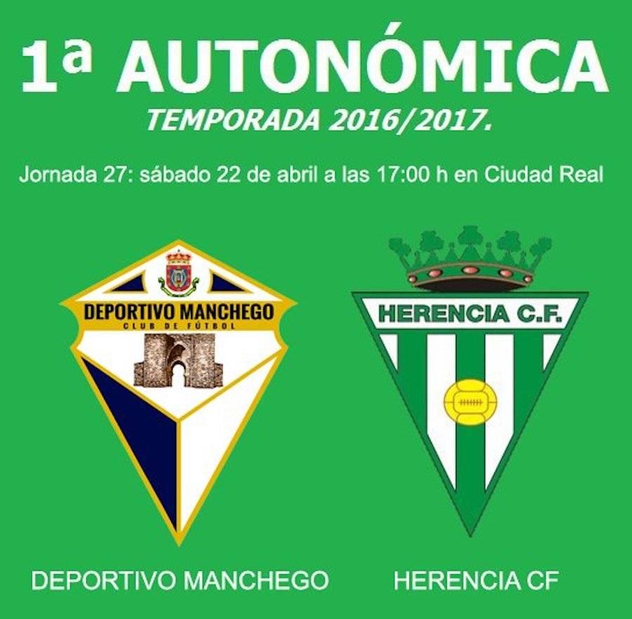 jornada 27 deportivo manchego herencia - Partido de fútbol entre Deportivo Manchego y Herencia CF en Ciudad Real