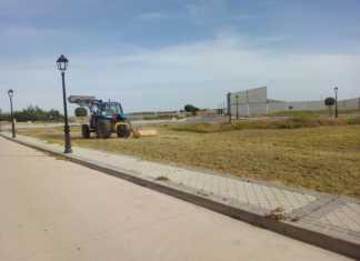 Limpieza de Solares en Herencia. Foto de Archivo