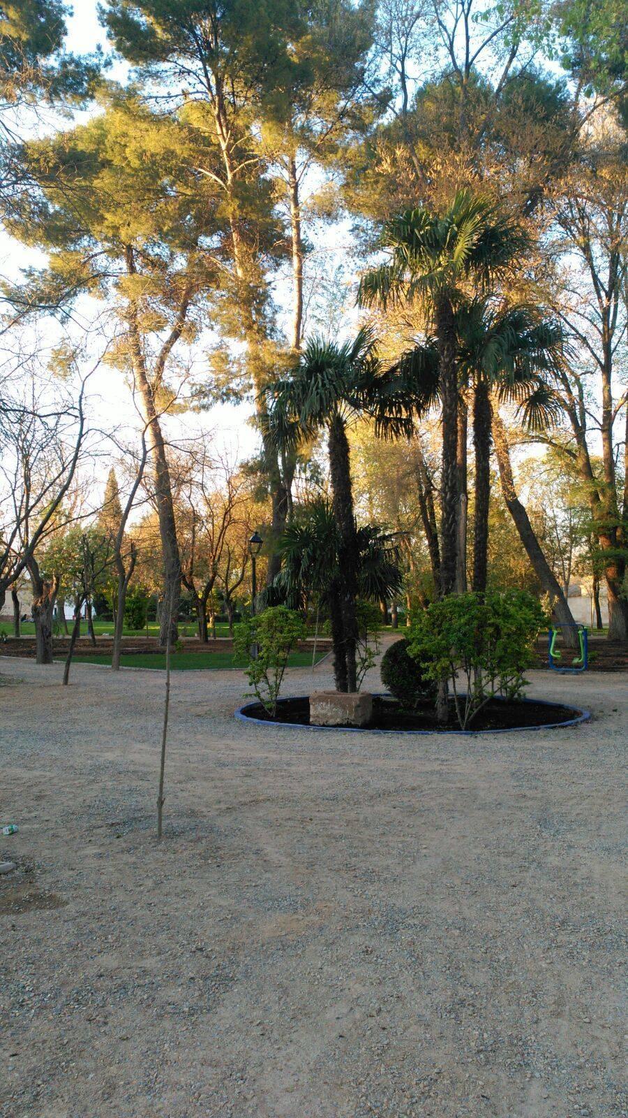 obras parque municipal casi acabadas herencia 1 - Las obras de renovación del Parque Municipal casi acabadas