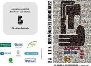 1274 2017 HERMÓGENES RODRIGUEZ jornadas diptico 1 300x219 - Comienzan las XXI Jornadas de Educación y Sociedad