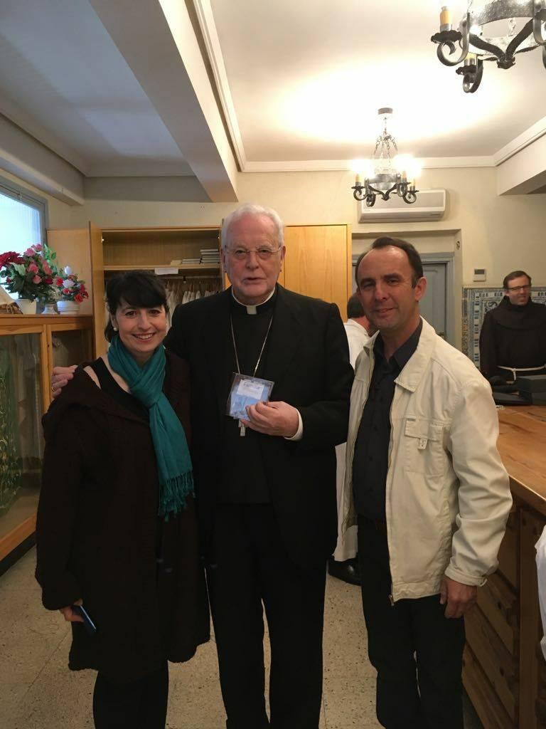 Reconocimiento a Cis Adar en el Congreso Nacional Franciscano 2