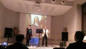 Reconocimiento a Cis Adar en el Congreso Nacional Franciscano 1