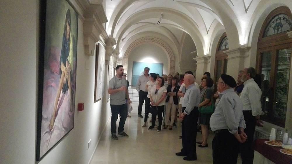 Claustro Ayuntamiento Herencia 1 - Inaugurado el antiguo Claustro del Ayuntamiento como galería artística del patrimonio histórico de Herencia