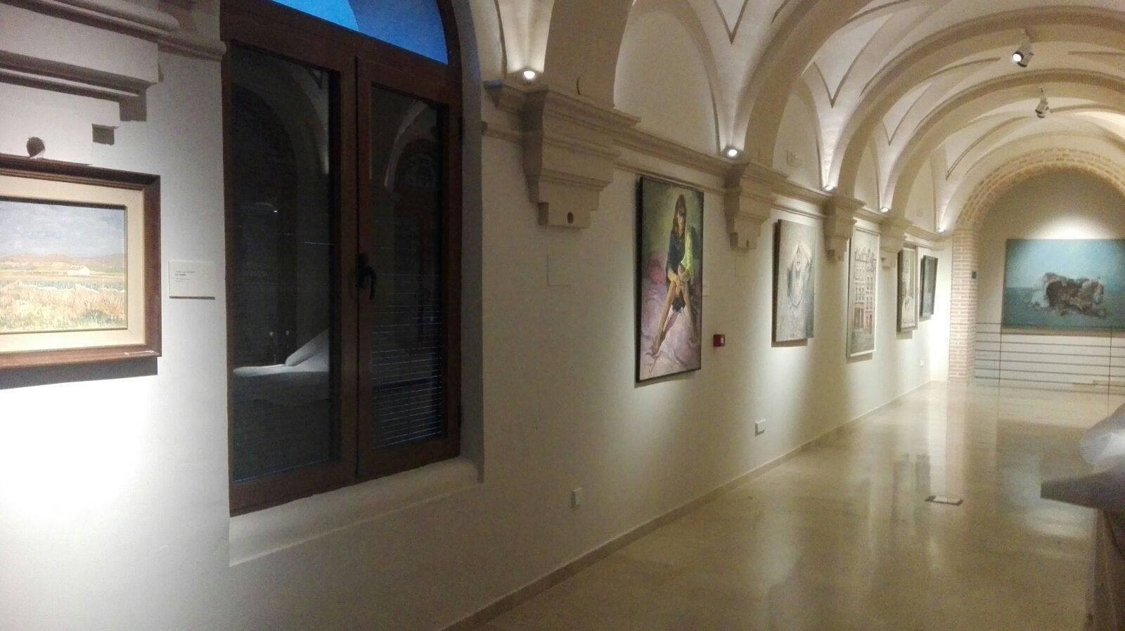 Claustro Ayuntamiento Herencia 2 - Inaugurado el antiguo Claustro del Ayuntamiento como galería artística del patrimonio histórico de Herencia