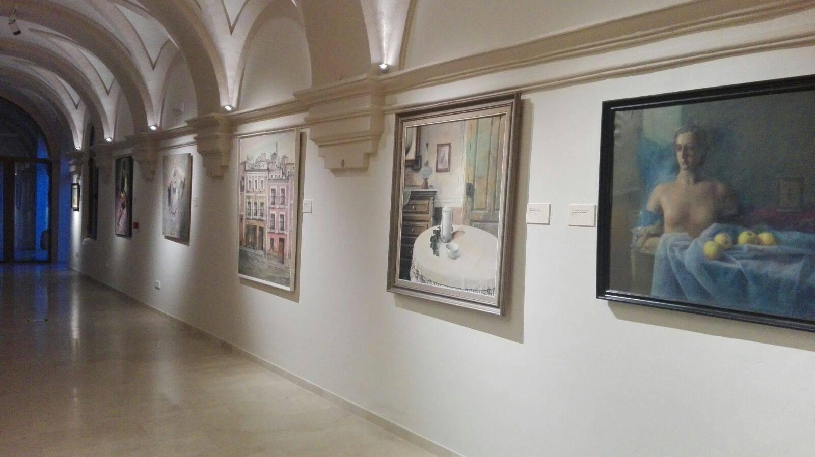 Claustro Ayuntamiento Herencia 3 - Inaugurado el antiguo Claustro del Ayuntamiento como galería artística del patrimonio histórico de Herencia