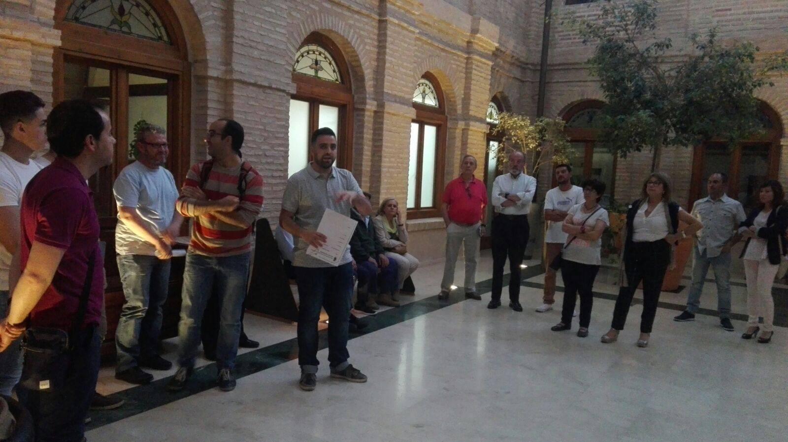 Claustro Ayuntamiento Herencia 4 - Inaugurado el antiguo Claustro del Ayuntamiento como galería artística del patrimonio histórico de Herencia