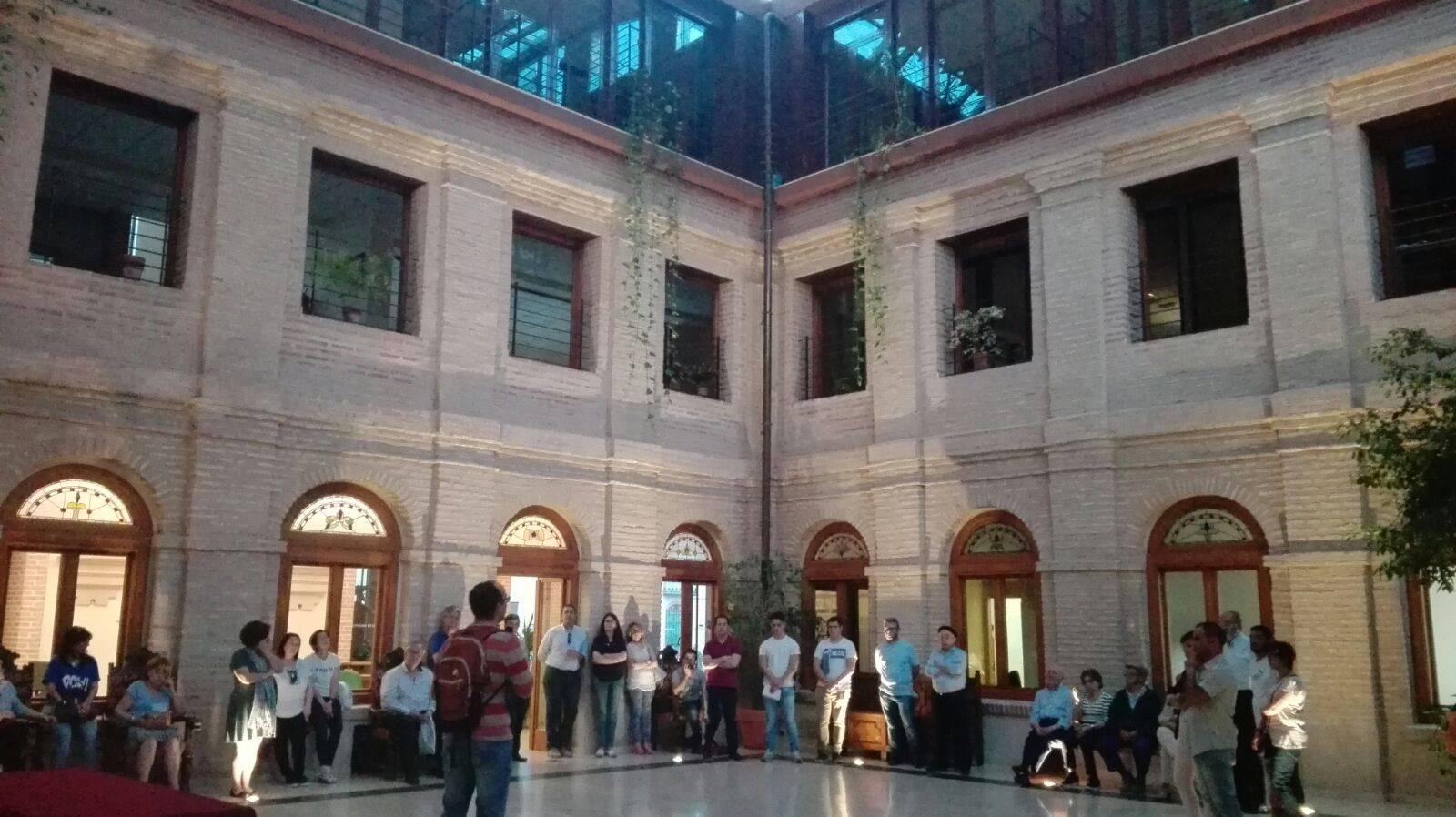 Claustro Ayuntamiento Herencia 5 - Inaugurado el antiguo Claustro del Ayuntamiento como galería artística del patrimonio histórico de Herencia