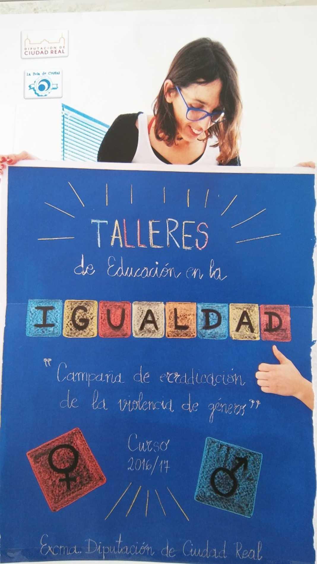 Eduación igualdad 1068x1899 - Talleres de Educación en la Igualdad de la Diputación de Ciudad Real