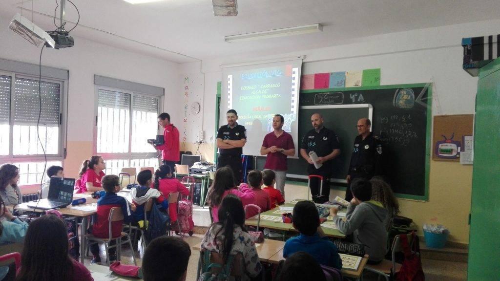 Educación Vial - Comienzan las clases de Educación Vial en los colegios