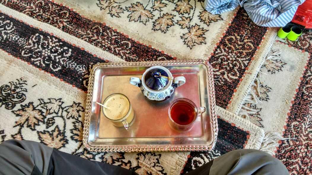 Perlé llegado a Teherán 5