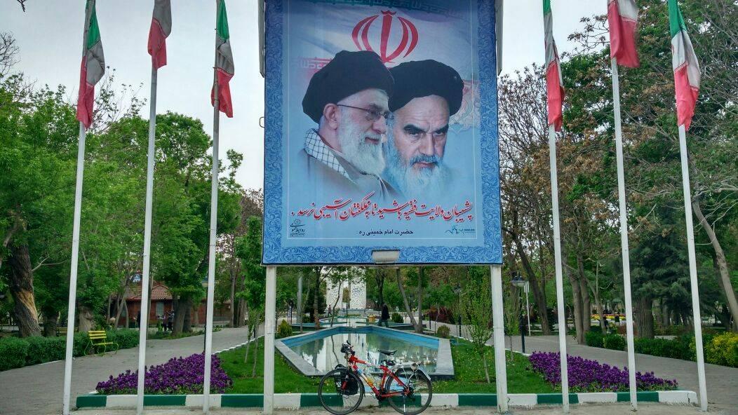 Elias por el mundo etapas 167a175 4 - Perlé llegado a Teherán