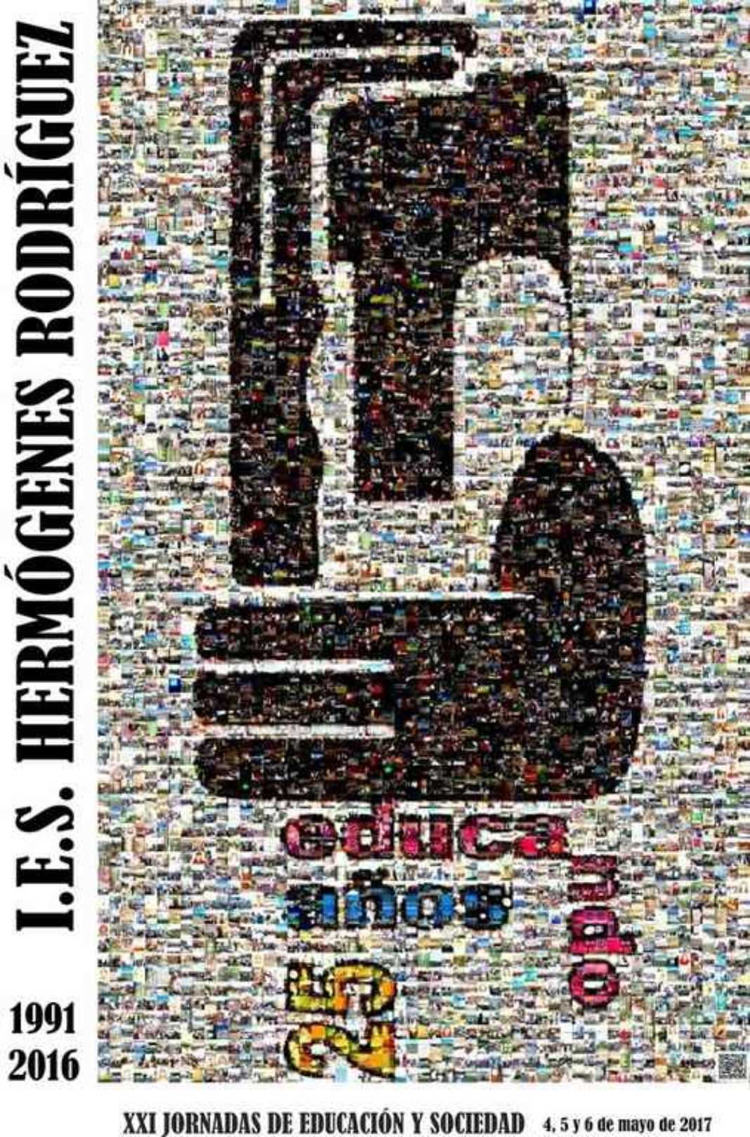 HERMÓGENES RODRIGUEZ jornadas cartel 1068x1618 - Comienzan las XXI Jornadas de Educación y Sociedad
