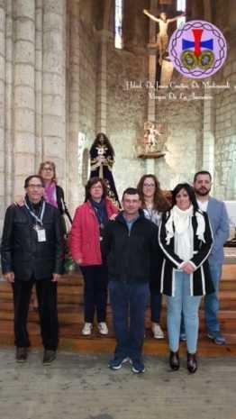 Hermandad de Jesus de Medinaceli de Herencia en Palencia01 262x465 - La hermandad de Jesús de Medinaceli asiste al Congreso Nacional de Palencia