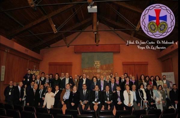 La hermandad de Jesús de Medinaceli asiste al Congreso Nacional de Palencia 2