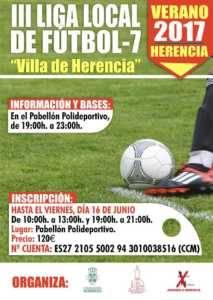 """III Liga Futbol 7 213x300 - Liga Infantil de Fútbol Sala """"Jóvenes Promesas"""" y Liga de Fútbol 7"""