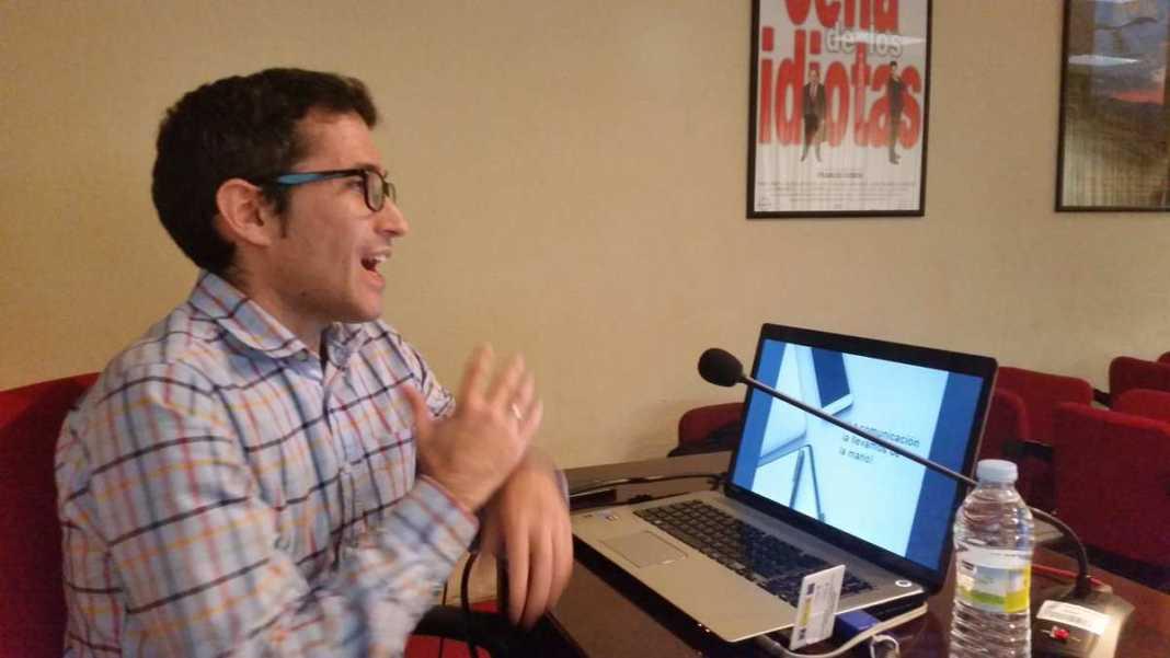 Jaime Carrero participa en las Jornadas de Difusión de la Cultura del vino  de la UCM 3