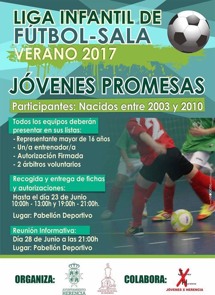 Liga infantil de f tbol sala j venes promesas y liga de for Federacion de futbol sala